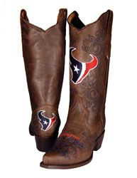 Carolina Panthers Womens Embroidered Cowboy Boots - Brown | Sweet ...