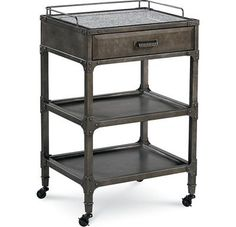 Cast-iron metal Shop Floor Side Table from Thomasville's Reinventions Collection. $549