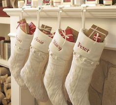 Image result for beautiful christmas stocking