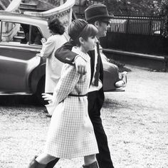 Audrey Hepburn and Peter O'Toole on the set of How to Steal a Million (1966)