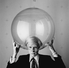 Andy Warhol. I. Love this photo...still searching for the photographer.