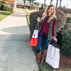 "f8bf63ea Jillian Landry💗Boutique Owner on Instagram: ""@tangeroutlets SUCCESS! Even  though it isn't Black Friday yet, I still got some amazing deals!"