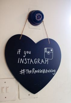 Chalkboard Decor for weddings or parties