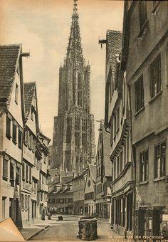 Ulm dom 1937 by janwillemsen, via Flickr