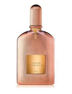 Tom Ford announces the new women's fragrance Orchid Soleil, to be out in July Orchid Soleil presents a summer version of the popular vamp perfume . Perfume Tom Ford, Perfume Diesel, Best Perfume, Perfume Bottles, Tom Ford Black Orchid, Tom Ford Beauty, Perfume Collection, Lotions, Eau De Toilette
