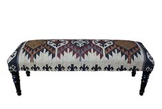 Otis Kilim Upholstered Bench on OneKingsLane.com