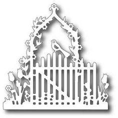 Tutti designy - řezání Die - velikonoční brána