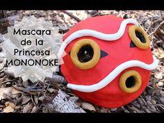 PRINCESS MONONOKE MASK ❤ COSPLAY TUTORIAL - YouTube