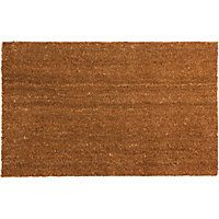 Homebase Plain PVC Coir  sc 1 st  Pinterest & Homebase Decorative Rubber Half Moon Mat 7.99 | Home - Doormats ...