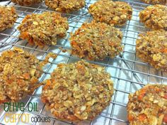 Olive Oil Carrot Cookies (Vegan and gluten-free!)
