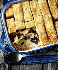 bread and butter pudding - A great family favourite as pudding to follow a weekend lunch
