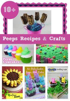 Over 10 Peep Recipe & Craft Ideas