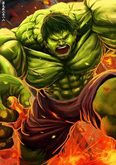 #Hulk #Fan #Art. (HULK) By: Wenart. (THE * 5 * STÅR * ÅWARD * OF: * AW YEAH, IT'S MAJOR ÅWESOMENESS!!!™)[THANK Ü 4 PINNING!!!<·><]<©>ÅÅÅ+(OB4E)