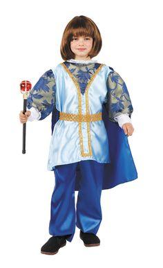 Elegante disfraz de príncipe