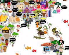Personalized World Maps For Kids | Maps by Annie