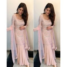 Stylish Dress Designs, Designs For Dresses, Stylish Dresses, Dresses For Work, Sharara Designs, Kurti Designs Party Wear, Lehenga Designs, Dress Indian Style, Indian Fashion Dresses