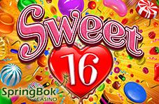 #SpringbokCasino Announces New December #Sweet16Slot  The delectable new Sweet 16 video slot game by Realtime Gaming boasts grouped wilds, multipliers and free spins.  http://www.onlinecasinosonline.co.za/blog/springbok-casino-announces-new-december-sweet-16-slot.html