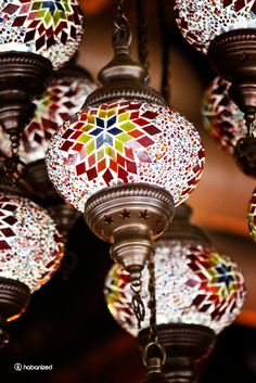 I went to a turkish restaurant for lunch with friends where I saw these beautiful works of traditional Turkish craftsmanship.