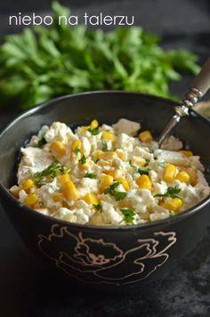 Szybka i łatwa sałatka z kalafiora - niebo na talerzu Healthy Recepies, Raw Food Recipes, Salad Recipes, Vegetarian Recipes, Cooking Recipes, Appetizer Salads, Appetizer Recipes, Side Salad, Food Allergies