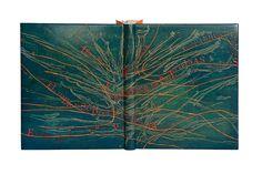 Design binding by Juan A. Fernández Argenta. Seven stories of Jorge Luis Borges. Seven etchings Irene Bogo.