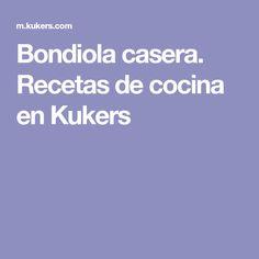 Bondiola casera. Recetas de cocina en Kukers Cooking Recipes, Homemade