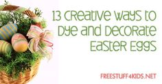 13 Creative Ways to Dye and Decorate Easter Eggs Spring Is Here, Spring Time, Easter Ideas, Easter Crafts, Easter Bunny, Easter Eggs, Crafts To Do, Diy Crafts, Fun Ideas