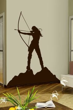 Archery wall decal by WALLTAT.com
