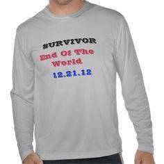 Survivor End of the World Shirt