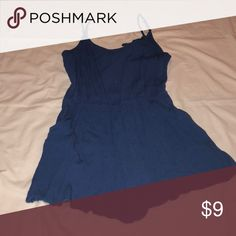 Blue romper Blue romper with pockets. Elastic waist. Spaghetti strap. Forever 21 Forever 21 Other