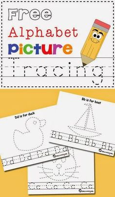 Helping Kids Grow Up: Free Letter Tracing Printables Your Kids Will Enjoy