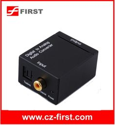 analog to digital converter dvb-t TV box RL Audio to Digital or Toslink Audio $5~$6
