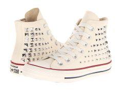 Converse Chuck Taylor® All Star® Collar Studs Hi Black - Zappos.com Free Shipping BOTH Ways