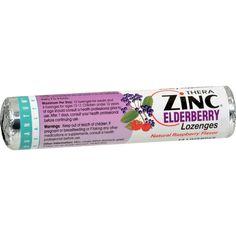 Quantum Zinc Lozenges Elderberry Raspberry - 1.2 oz - Case of 12