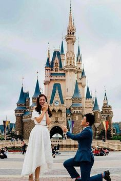wedding proposal ideas disneyland propose: We prepared for you a wide list of so romantic wedding proposal ideas from which you can opt some variant for your inspiration. Romantic Proposal, Proposal Photos, Most Romantic, Romantic Weddings, Unique Proposal Ideas, Perfect Proposal, Fairytale Weddings, Cinderella Wedding, Wedding Proposals