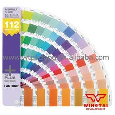 48.00$  Buy here - http://alirph.shopchina.info/go.php?t=32676530735 - 112 New Colors PANTONE FORMULA GUIDE Solid Coated & Uncoated Supplement GP1601-SUPL  Color Shade Cards  #magazineonlinewebsite