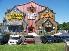 Hatfields & Mccoys dinner show in Pigeon Forge, TN