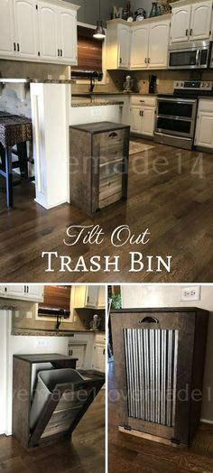 Love this! So much more classy than a regular trash can! #ad