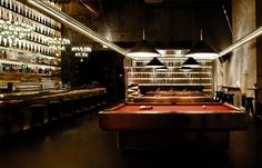After work drinks and pool at Tazmania Ballroom, Hong Kong's favourite place to eat, drink and play.