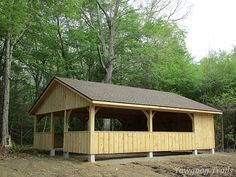 New shelter at the #Yawgoog Archery Range.  Image by David R. Brierley.