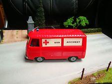 Ancien Norev - Peugeot J7 / J 7 Fourgon Pompiers SOS Accident - HC