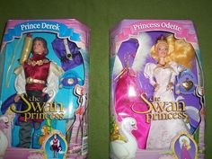 Princess Odette and Prince Derek