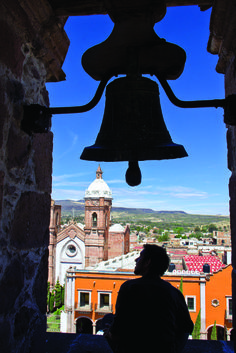 Bell tower in the Temple of San Francisco #VisitMexico #LiveItToBelieveIt #Culture #Bell