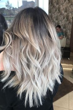 Hair Beauty, Hairstyle, Long Hair Styles, Stylish, Makeup, Hair Ideas, Light Ash Blonde, Ash Blonde, Haircolor