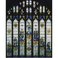 Seven Ages of Man Stained Glass Replica