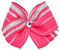 Puppy Kisses' hair bows for dogs are expertly MADE WITH SWAROVSKI ELEMENTS to highlight the sparkle in your most loyal companion. Made in the USA, these are the perfect dog hair bows for a Bichon, Lhasa Apso, Maltese, Shih-tzu, Yorkie, and many other breeds! Visit www.puppykisses.com for more great ideas for dog lovers!