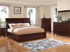 Sonoma Storage Sleigh Bed Collection & Storage Sleigh Bed. Beautiful wooden details! | Bedroom u003d Restful ...