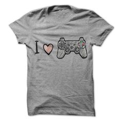 I Love Play Station T Shirts, Hoodies, Sweatshirts. CHECK PRICE ==► https://www.sunfrog.com/Gamer/I-Love-Play-Station.html?41382