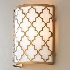 Stairwell (F) (qty:2) $118/ea. Contempo Arabesque Wall Sconce