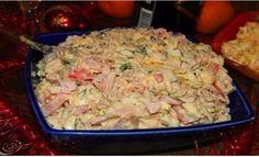 Najlepší slávnostný šalát z kuracieho mäsa, šunky, syra a zeleniny! V kuchyni sa po ňom len tak zapráši! - Báječná vareška