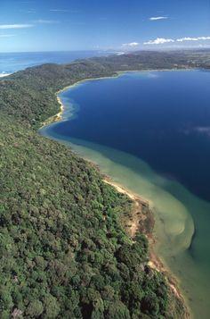 Lake Sibaya -the largest fresh water lake in South Africa